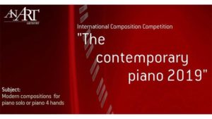 "International Composition Competition ""The contemporary piano"" (2019)"